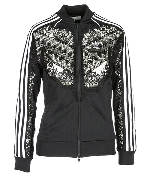 Sweat avec zip  Adidas by Stella McCartney 536035SLW391000 nero