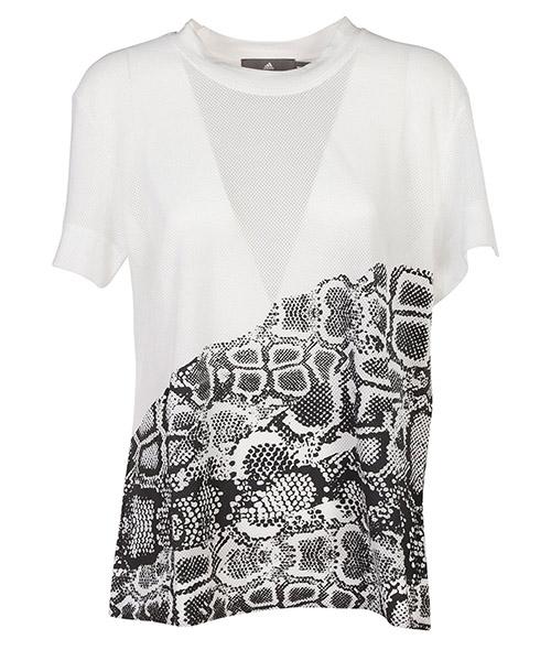 T-shirt Adidas by Stella McCartney BQ8375 bianco