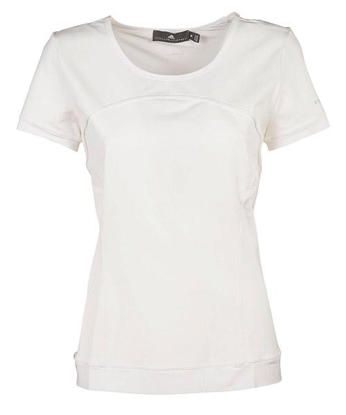 женская футболка с коротким рукавом с круглым вырезом