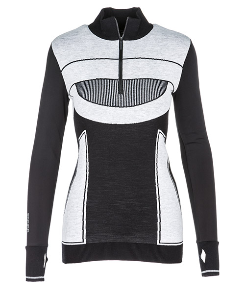 Pull Adidas by Stella McCartney CX2282 black - white