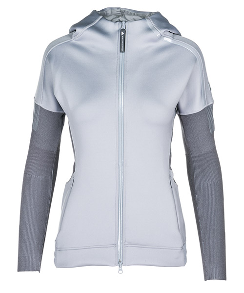 Kapuzensweatshirt Adidas by Stella McCartney CY6667 grey