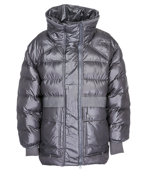 Down jacket Adidas by Stella McCartney CZ3538 grigio