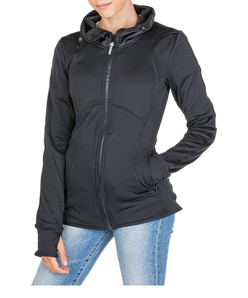Veste  Adidas by Stella McCartney Run climaheat  FI8895 nero