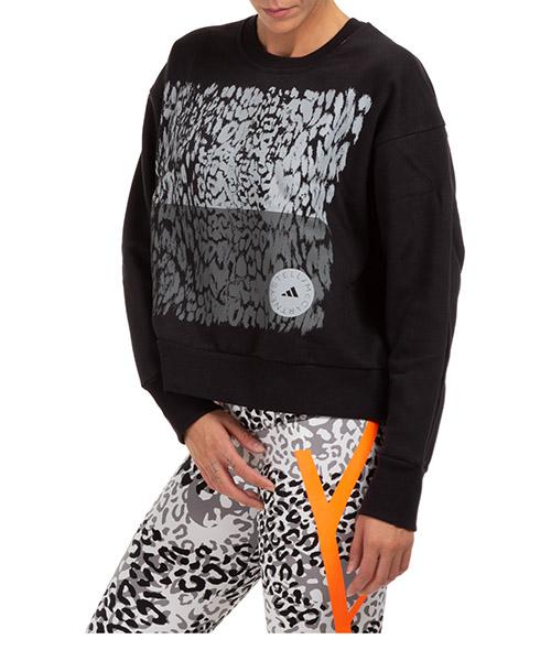 Sweatshirt Adidas by Stella McCartney gl4153 nero