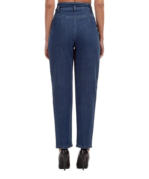 Damen gerade strechthose jeans secondary image