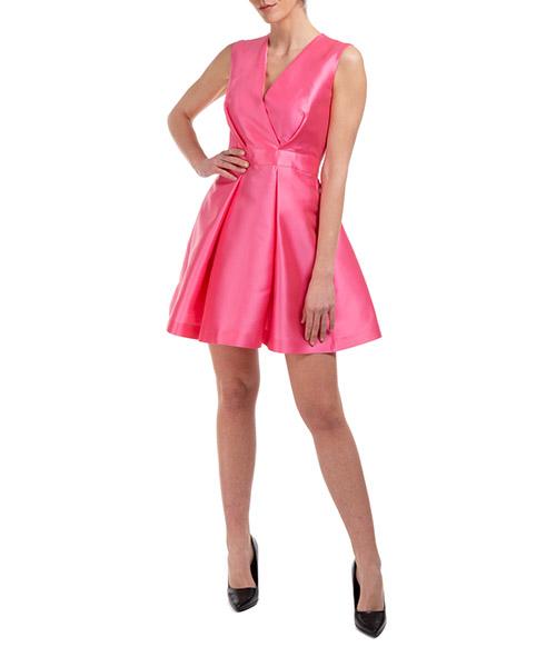 Vestito al ginocchio Alberta Ferretti A044116360212 rosa