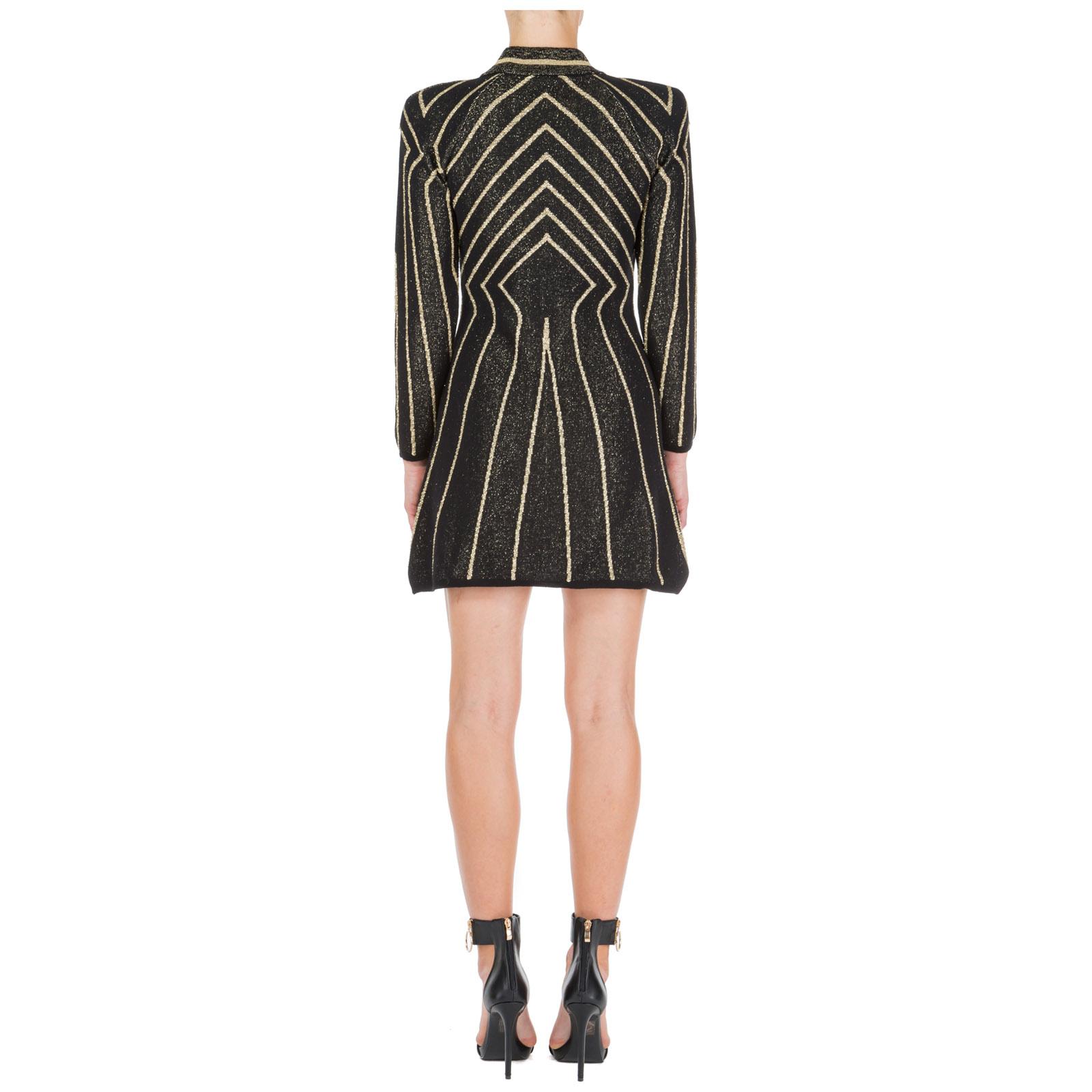 Women's short mini dress long sleeve