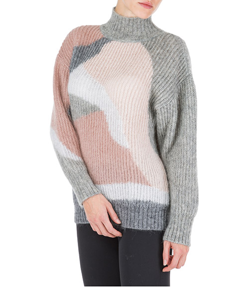 Women's jumper sweater turtle neck