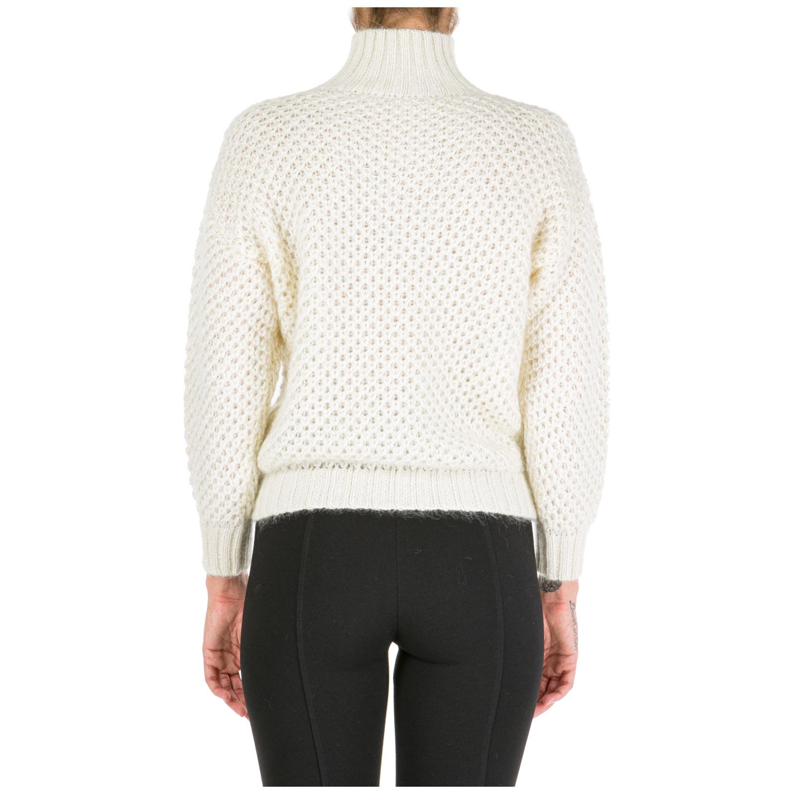 Women's jumper sweater turtle neck