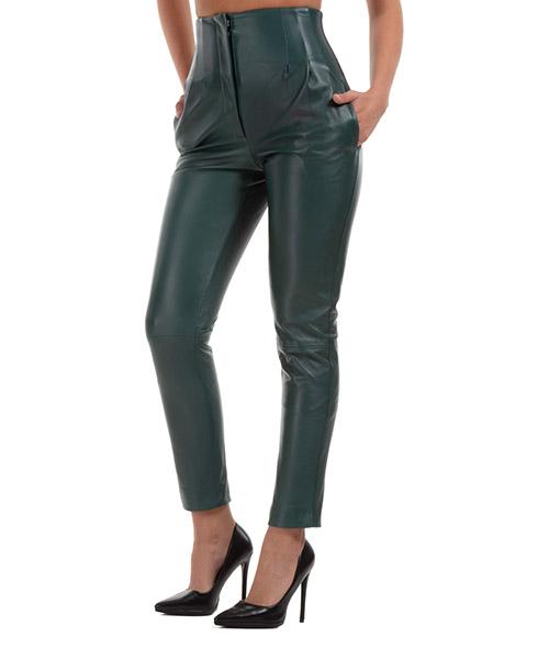 Pantalones Alberta Ferretti A371566760390 verde