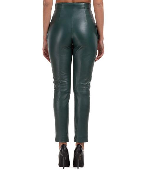 Pantalones de mujer de cuero piel secondary image