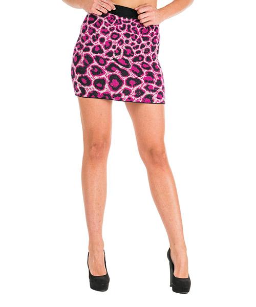 Mini skirt Alberta Ferretti Love me wild J018451071132 rosa