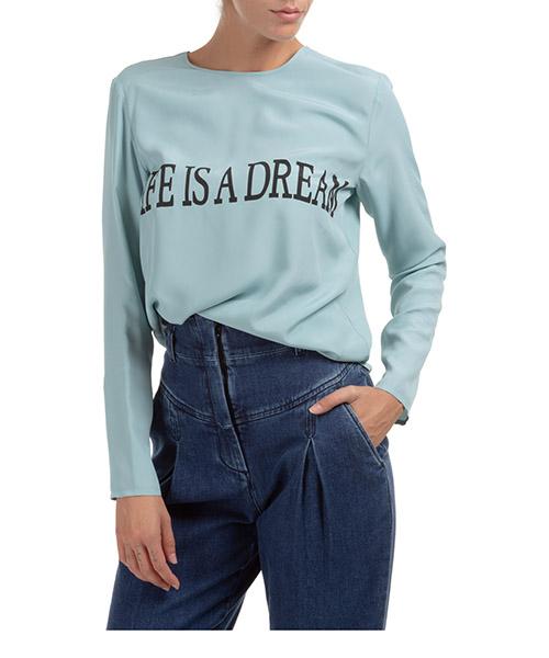 Shirt Alberta Ferretti Life Is 202U J022866601322 azzurro