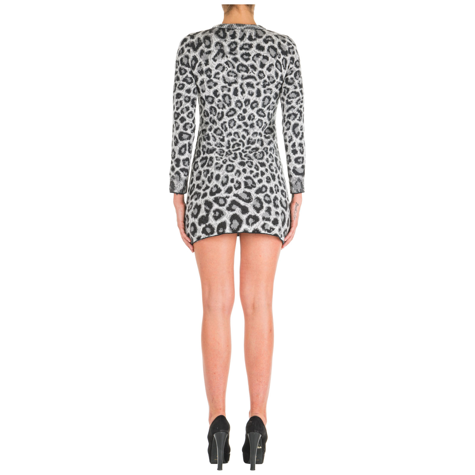 Women's short mini dress long sleeve love me wild