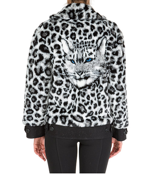 Faux fur jacket women  love me wild secondary image