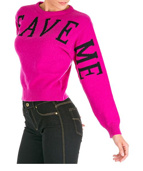Pull Alberta Ferretti Save me J091551121244 fucsia