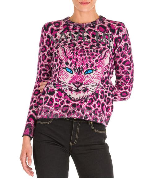 Pullover Alberta Ferretti love me wild j092851071132 rosa