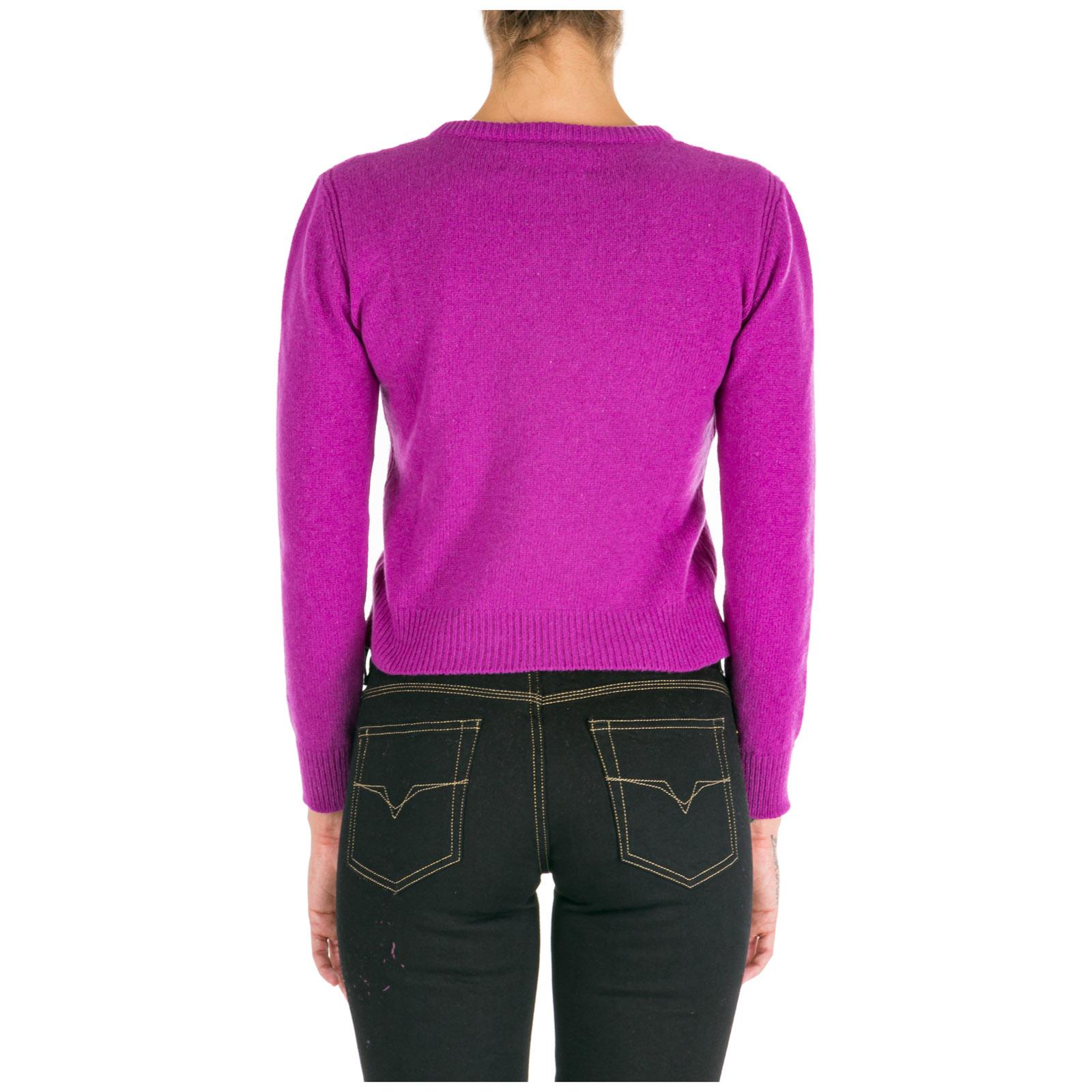 Women's jumper sweater crew neck round rainbow week tuesday