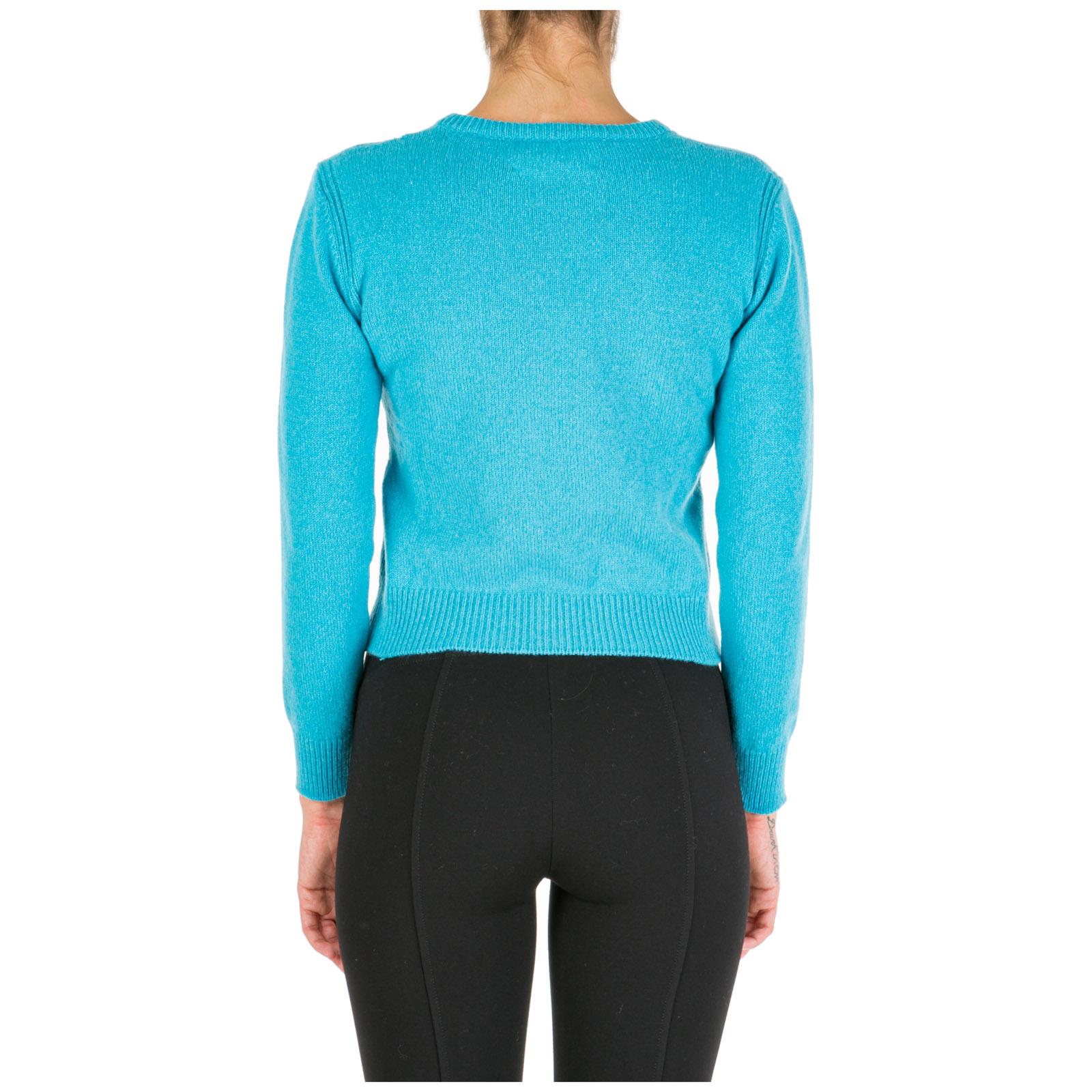 Women's jumper sweater crew neck round rainbow week monday