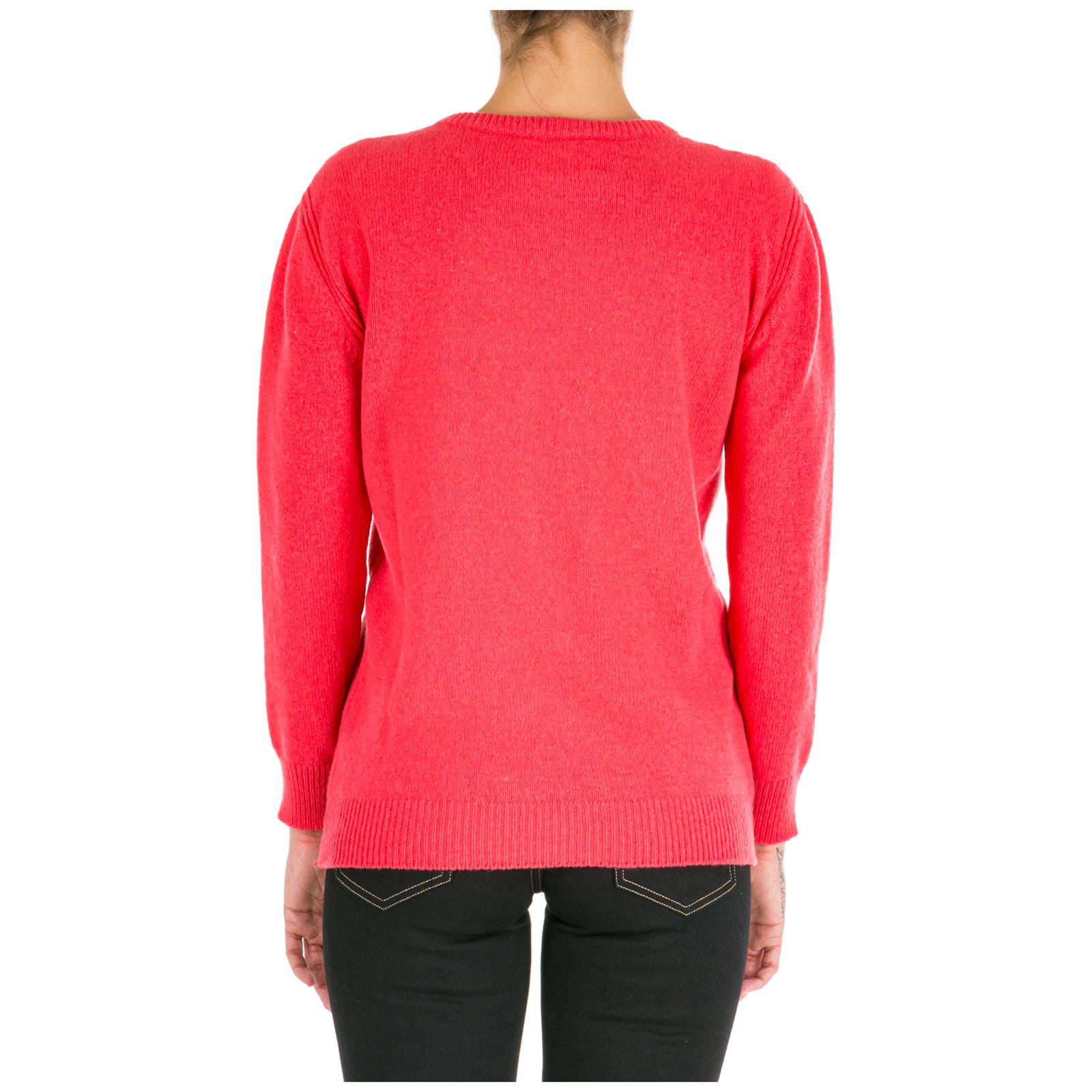 Women's jumper sweater crew neck round rainbow week friday