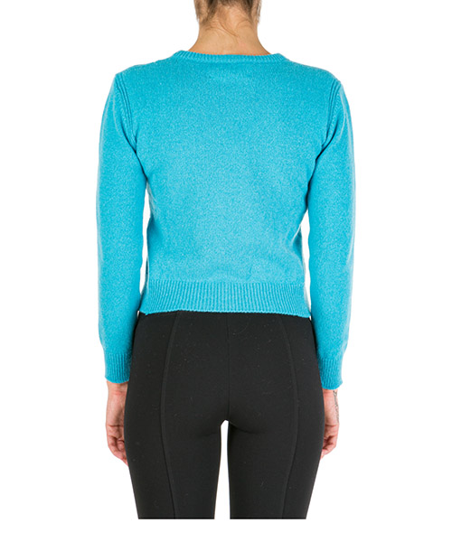 Women's jumper sweater crew neck round rainbow week monday secondary image