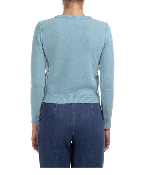 Suéter de cuello redondo sweater de mujer life is a dream capsule collection secondary image