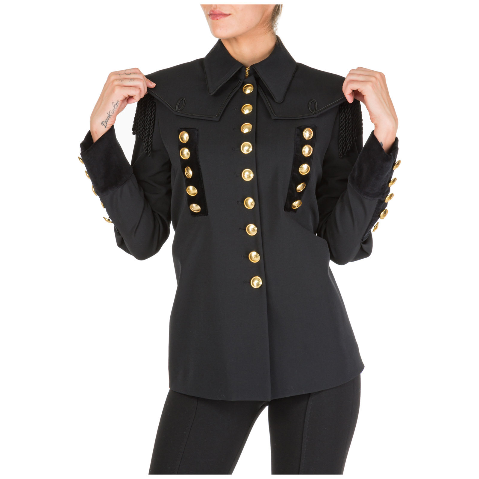 Women's jacket blazer  military