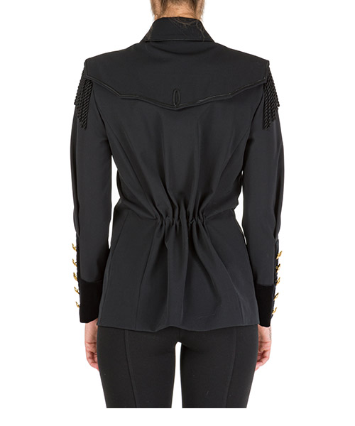 Women's jacket blazer  military secondary image