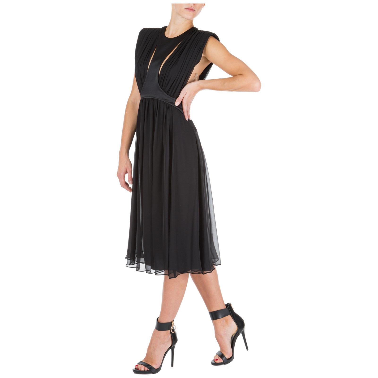 Women's calf length dress sleeveless