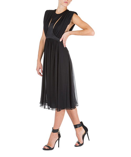Длинное платье Alberta Ferretti v045951140555 nero