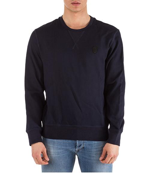 Sweatshirt Alexander McQueen 487915QKR284100 blu