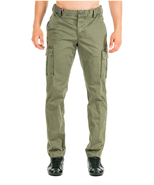 Trousers AT.P.CO BETA A191BETA03 TC201/T D verde860