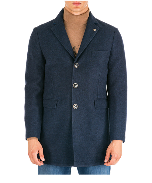 Cappotto AT.P.CO fabian a193fabian72 l014 blu790