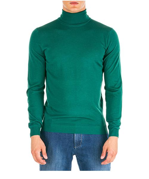 Maglione collo alto AT.P.CO a19405emp02 verde870