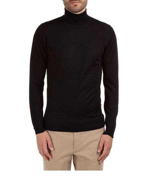 Roll neck jumper ATPCO A21405 EMP - nero999