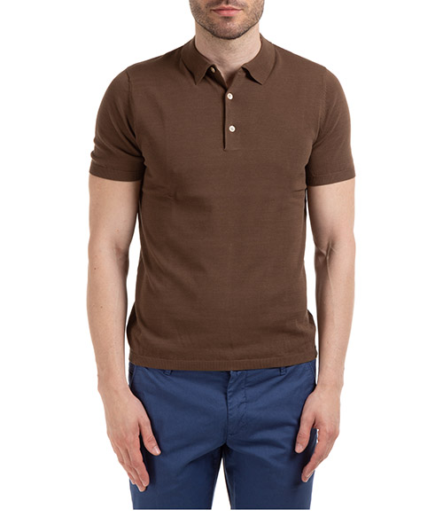 Polo shirts AT.P.CO A20424 M100 marrone270
