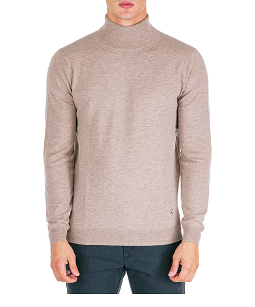 Roll neck jumper AT.P.CO A19432 L100 beige040