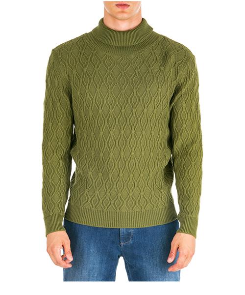 Maglione collo alto AT.P.CO a19463505002 verde860