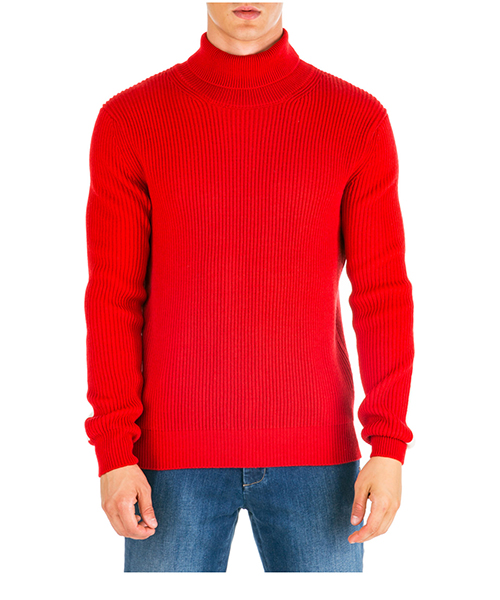Roll neck jumper AT.P.CO a19476 5050 rosso460