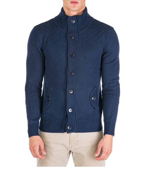 Cardigan AT.P.CO A19478 5050 blu799