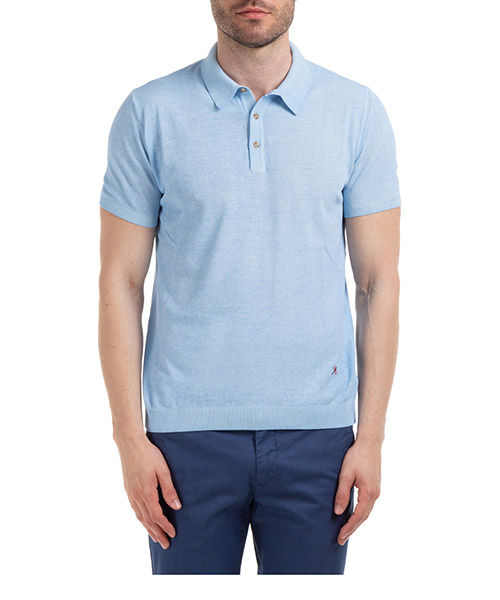 Polo shirts AT.P.CO A20478 M700 blu760
