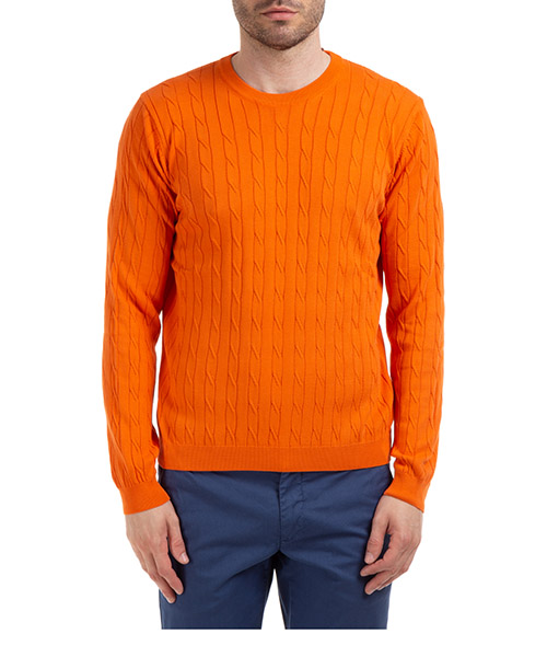 Sweater AT.P.CO A20481 M800 arancio300