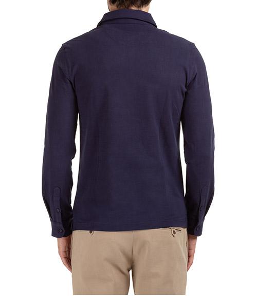 Men's long sleeve t-shirt polo collar secondary image