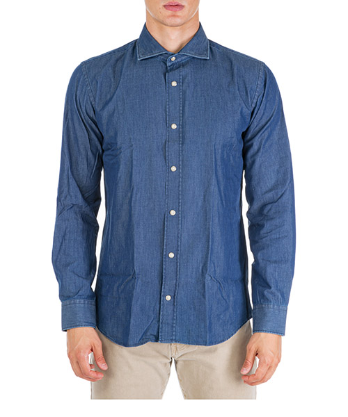 Shirt AT.P.CO TERRA A196TERRA BRIT/S30 blu720