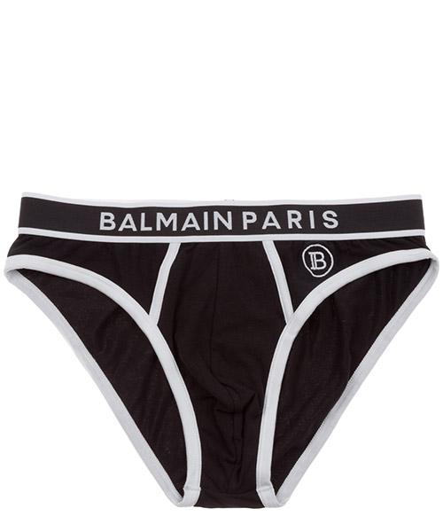 Slip Balmain brl615020.010 nero