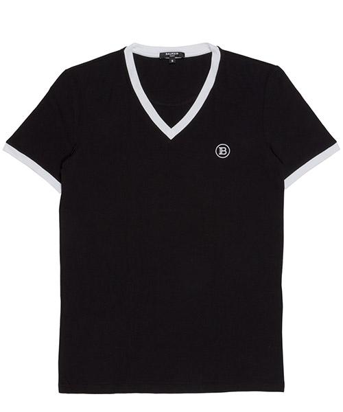 T-shirt Balmain brm805020.010 nero
