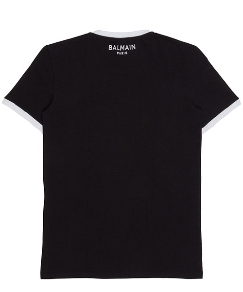 Herren t-shirt kurzarm kurzarmshirt v ausschnitt secondary image