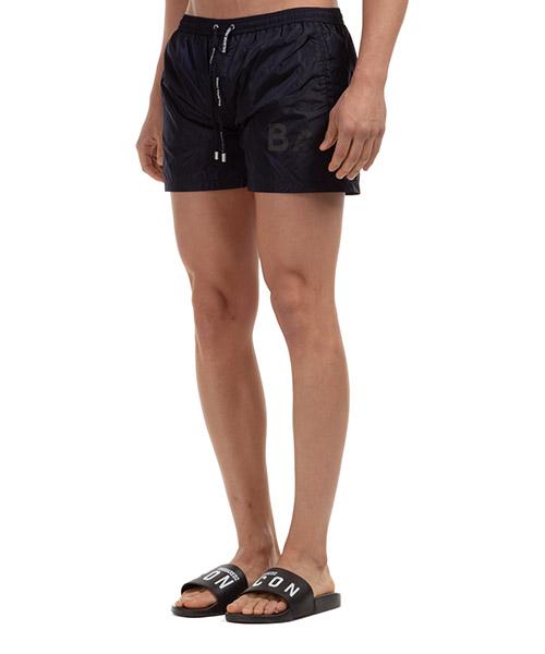 Men's boxer swimsuit bathing trunks swimming suit logo secondary image