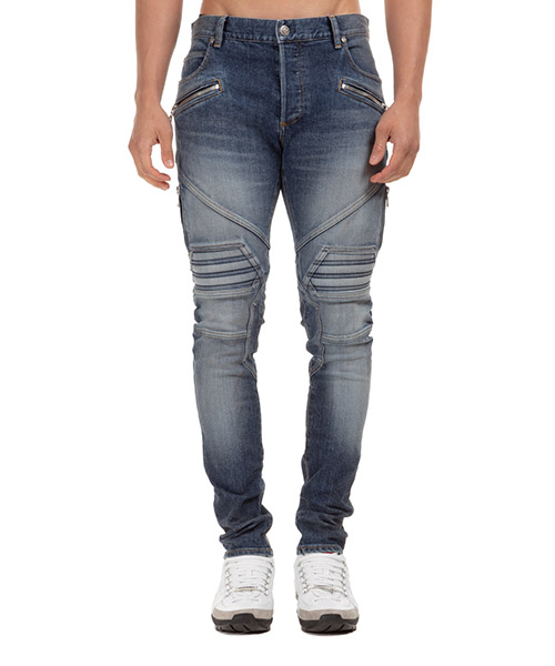 Jeans Balmain uh05105z1706aa blu