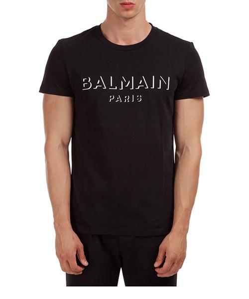 T-shirt Balmain UH11601I3640PA nero
